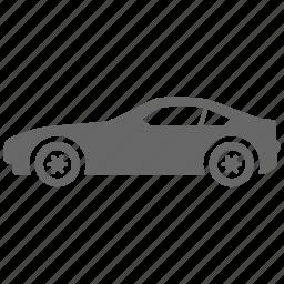 automobile, car, coupe, transport, vehicle icon