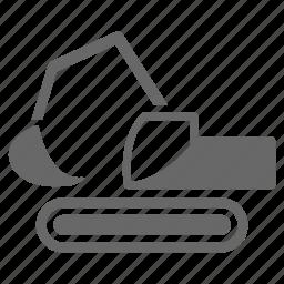 building, construction, equipment, excavator, techmology, work icon