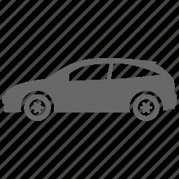 auto, automobile, car, hatchback, transport, vehicle icon