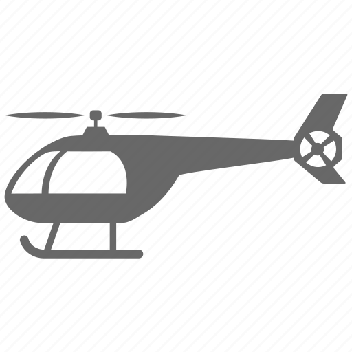 flight, helicopter, plane, transport, vehicle icon