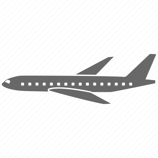 airplane, airport, delivery, flight, plane, transportation, travel, vacation icon