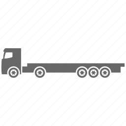 delivery, platform, shipment, transportation, truck icon