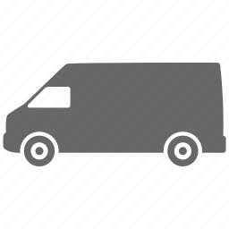 auto, automobile, car, shipping, transport, transportation, van, vehicle icon