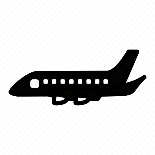 aeroplane, aircraft, airline, jet, plane, vehicle icon