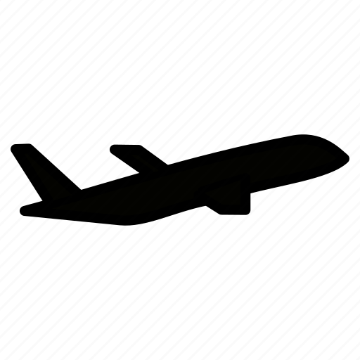 aeroplane, aircraft, airline, plane, transportation, vehicle icon
