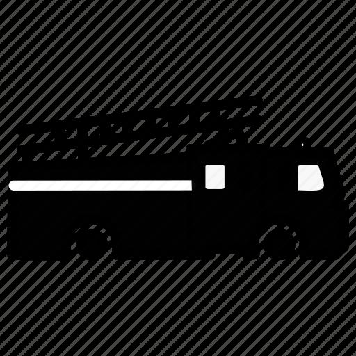 caravan, carrige, firevan, goods, heavy, traffic, vehicle icon