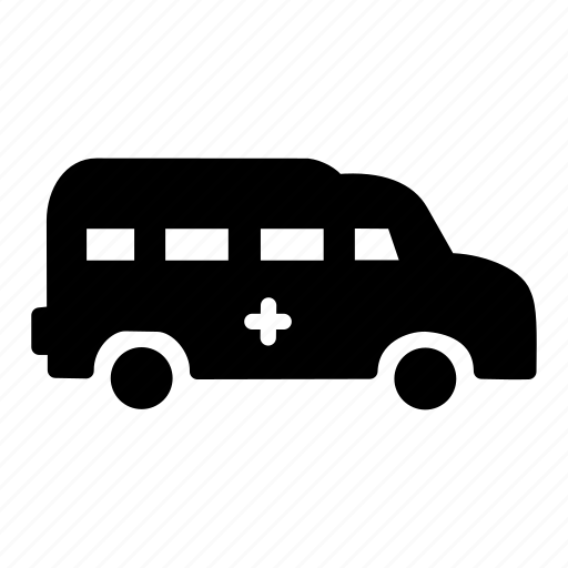 ambulance, carrige, goods, heavy, traffic, transportation, vehicle icon