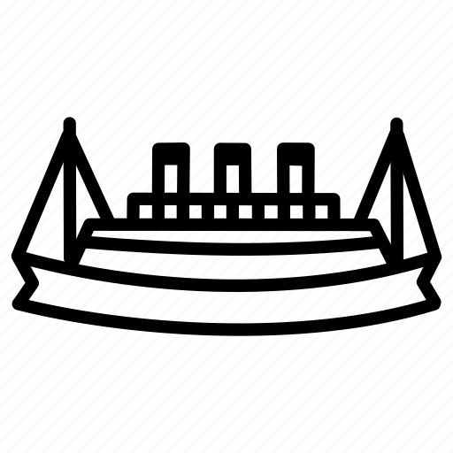 boat, caravan, craft, ship, stimmer, titanic, vehicle icon