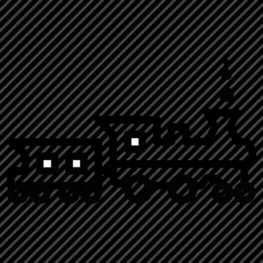 caravantrack, convoy, maglave, train, vehicle icon
