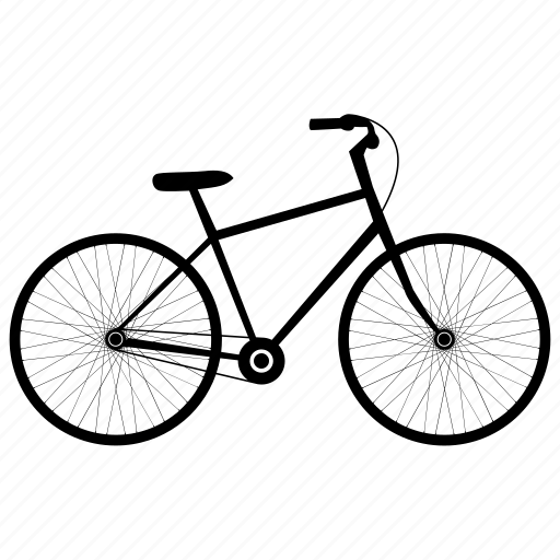 bicylce, bikes, city bike, man's bicycle, man's bike icon