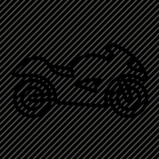 auto, bike, motor bike, sport bike, vehicle icon