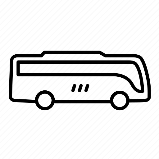 auto, bus, tour, transport, vehicle icon