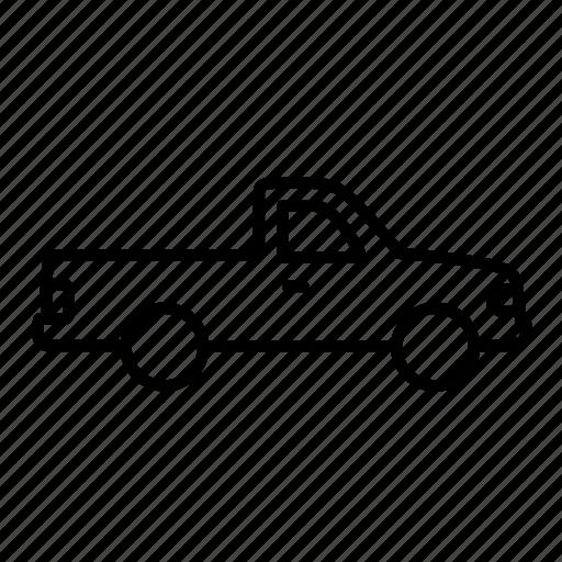 auto, car, pickup, transport, vehicle icon
