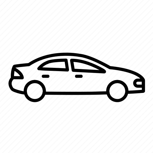 auto, car, sedan, transport, vehicle icon