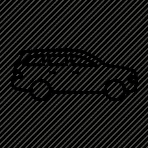 auto, car, suv, transport, vehicle icon
