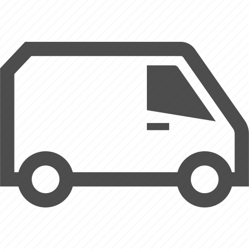 car, delivery, transportation, van, vehicle icon