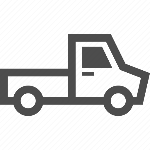 car, delivery, pickup, transportation, truck, vehicle icon