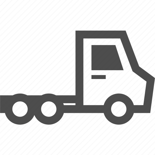car, delivery, head, trailer, transportation, truck, vehicle icon