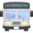 bus, coach, public transport, transportation, vehicle icon