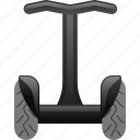 segway, transport, transportation, vehicle icon