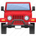 vehicle, transport, transportation, car, jeep icon