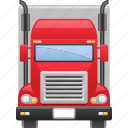 delivery truck, lorry, transport, transportation, truck, vehicle icon
