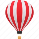 hot air balloon, transport, vehicle, transportation, balloon icon
