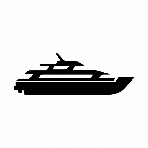 luxury, ship, vehicle, yacht icon