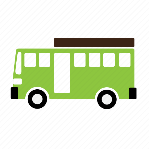 bus, passenger, transport, vehicle icon