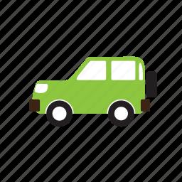 cab, car, four-wheeler, jeep, suv, transport icon