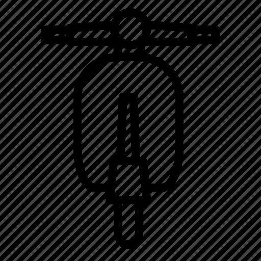 Bike, scooter, transportation, vehicle, vespa icon - Download on Iconfinder