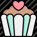 cupcake, cake, food, dessert, bakery