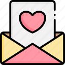 love, email, message, communication, letter