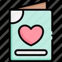love, letter, valentine, envelope, message