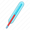 health, medical, temperature, thermometer icon