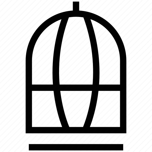 bird cage, cage, parrot cage, pet cage, zoo cage icon
