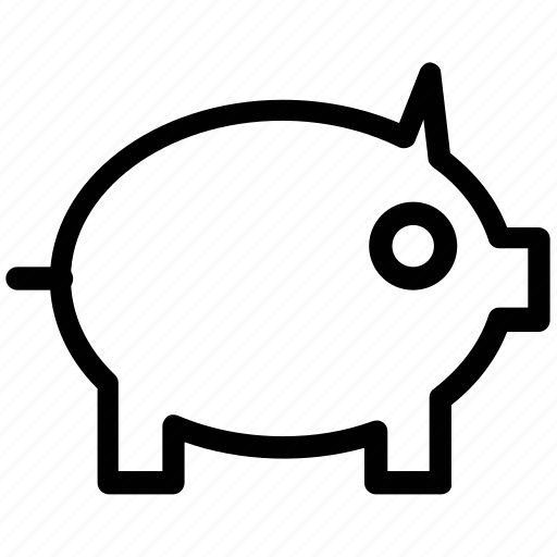 animal, pig, piggy, pork, swine icon