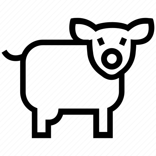 animal, ewe, farm sheep, lamb, sheep icon