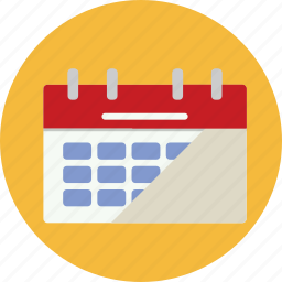 calendar, date, month, schedule, time, web, week icon