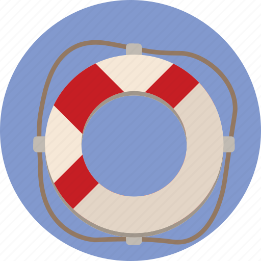 creative, lifeboat, maritime, safe, sailing, save, web icon