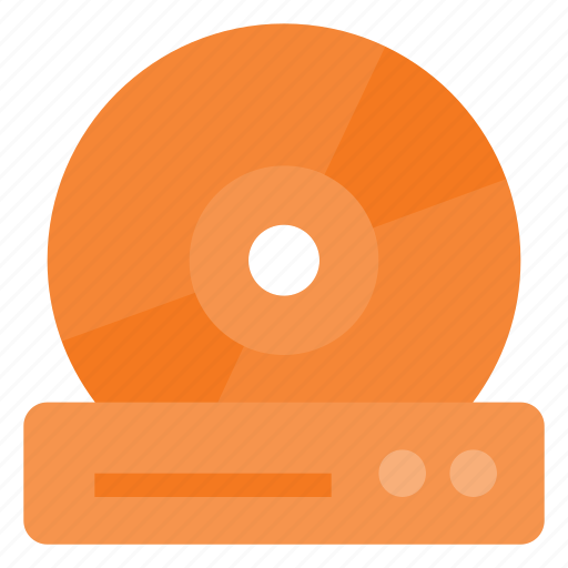 device, disc, dvd, film, movie, player icon