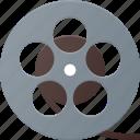 film, movie, retro, roll, strip icon