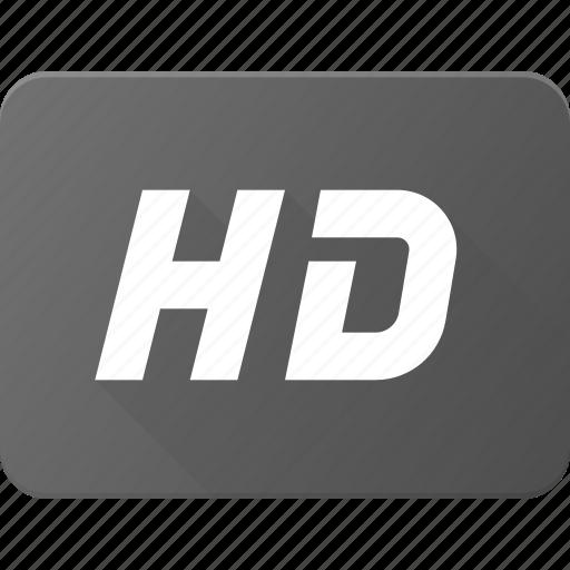 clip, definition, film, hd, high, movie icon