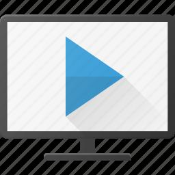 movie, play, smart, television, tv icon