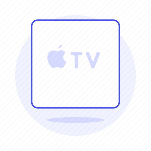 apple, control, devices, digital, media, player, remote, streaming, tv, video icon