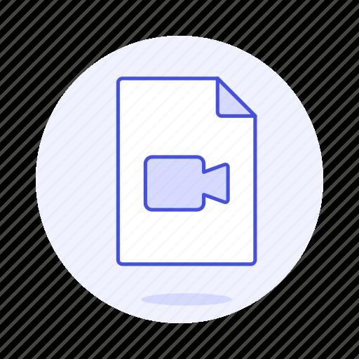 camera, files, video icon