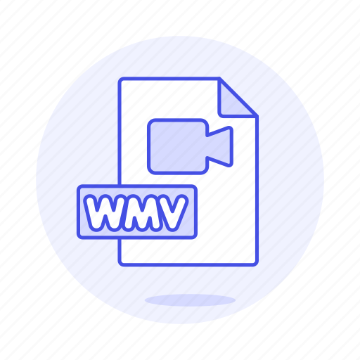 camera, files, format, video, wmv icon