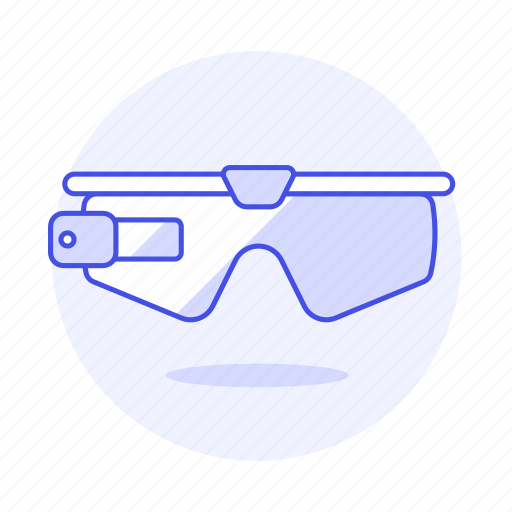 1, ar, augmented, camera, glasses, reality, smart, video icon