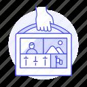 1, briefcase, editing, editor, media, portable, producer, video icon