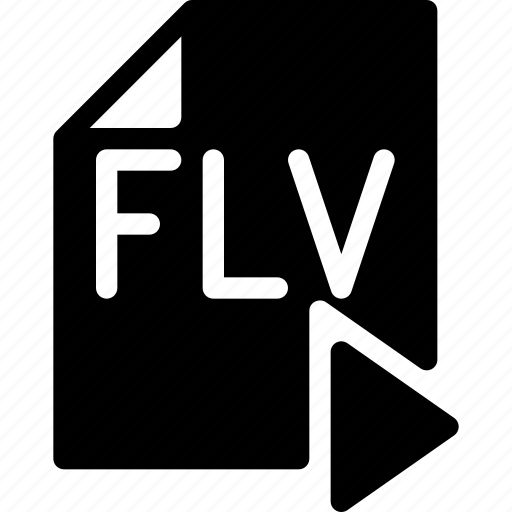 doc, document, file, flv, play, video icon